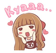 LINE Creators' Stickers - Centilia Animated Sachet 6 Example with GIF Animation Cute Cartoon Pictures, Cute Love Cartoons, Cute Pictures, Love Profile Picture, Chibi Couple, Korean Stickers, Cute Love Gif, Cute Messages, Cartoon Gifs