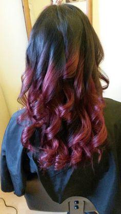 Plum curls