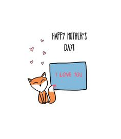 Fox Greeting Cards Trend Hits Mother's Day