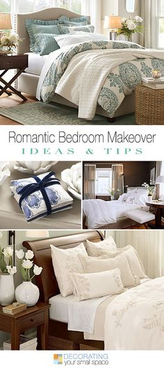 Give Your Bedroom a Romantic Makeover! • Great ideas & tips!