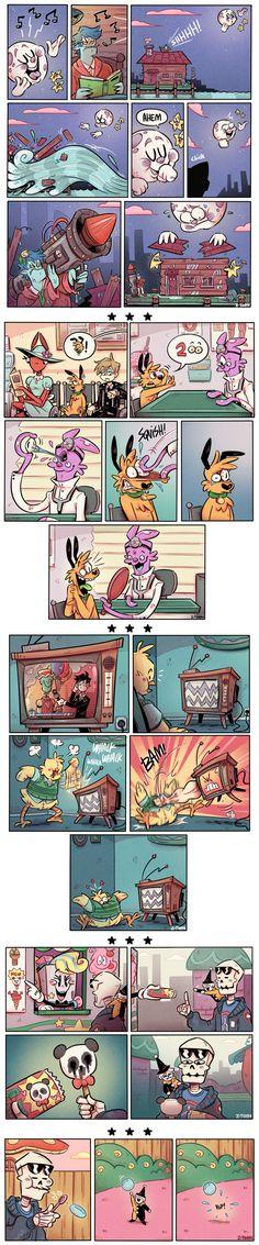 Cute Comics, A Comics, Funny Comics, Animal Z, Z Toon, Dragon Age Funny, Jaiden Animations, Kid N Teenagers, Comics Story