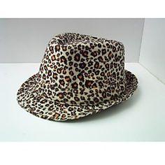 ts leopard fedora hat (flere farver)