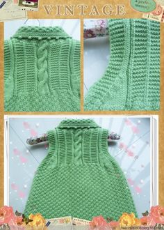 This Pin Was Discovered By Huz - Diy Crafts - Qoster Crochet Baby Blanket Sizes, Crochet Baby Hat Patterns, Poncho Knitting Patterns, Knitted Poncho, Knit Patterns, Knitting For Kids, Crochet For Kids, Baby Coat, Crochet Baby Booties