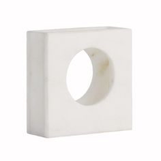 Square Hollow Marble Vase   Pieces