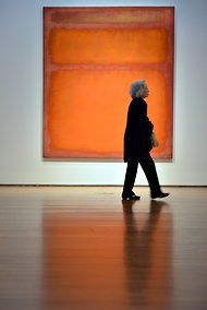 Record Sales at Christies for Rothko and others.