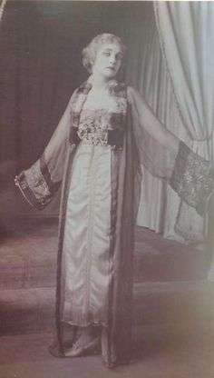Dress by Lucile. Photo from F.I.T. Archives