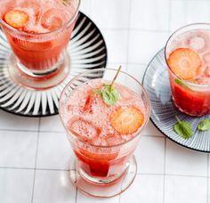 Rezept: Erdbeer-Fizz