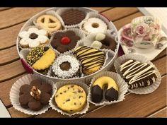 YouTube Biscotti Cookies, Galletas Cookies, Cupcake Cookies, Mini Desserts, Italian Desserts, Nutella, Biscuits, Mini Pastries, Italian Cookies