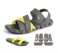 """""""DIY"""" sandal and it's genius! Different colors & different styles."""