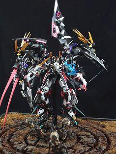 GUNDAM GUY: 1/100 Deathscythe Reaper - Custom Build