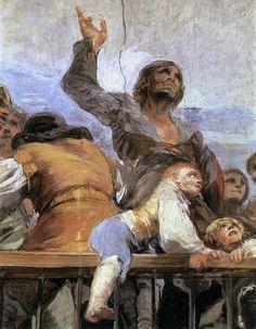 Francisco de Goya Y Lucientes, The Miracle of St Anthony (detail) 1798, San Antonio de la Florida, Madrid, Spain