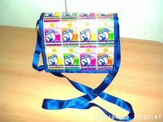 Tasche aus Brausetüten Backpacks, Diy Home Crafts, Diy, Bags, Backpack, Backpacker, Backpacking