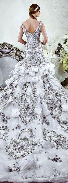 Dar Sara Bridal Collection 2014 http://www.wedding-dressuk.co.uk