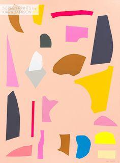 screen prints by Kirra Jamison