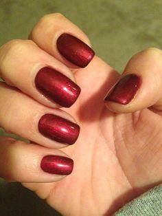CND Shellac - Crimson Sash