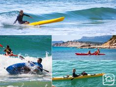 Practise Kayaking on the Costa Blanca! By yourself, with your family or surfing the waves. What form do you prefer? www.abahanavillas.com
