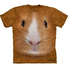 Guinea Pig Face T-Shirt    OK, not for me but the kids love it!