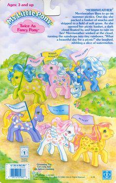 My Little Pony Twice-as-Fancy Pony Year 2 Backcard