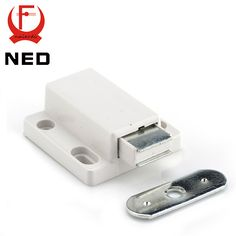 NED Cabinet Catch Kitchen Door Stopper Drawer Soft Quiet Close Magnetic Push to Open Touch Damper Buffers For Furniture Hardware - ICON2 Luxury Designer Fixures  NED #Cabinet #Catch #Kitchen #Door #Stopper #Drawer #Soft #Quiet #Close #Magnetic #Push #to #Open #Touch #Damper #Buffers #For #Furniture #Hardware