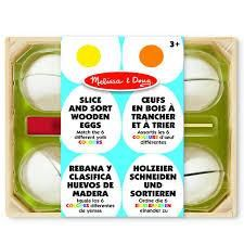 Now available at #bellylaughsca Melissa and Doug ...  http://www.bellylaughs.ca/products/melissa-and-doug-slice-and-sort-wooden-eggs?utm_campaign=social_autopilot&utm_source=pin&utm_medium=pin