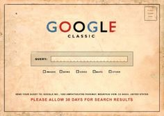 Google Post Card