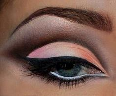 Love #prom makeup #eyes #formalapproach