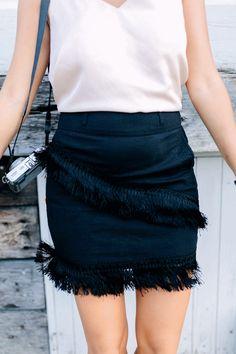 DIY Fringe Skirt
