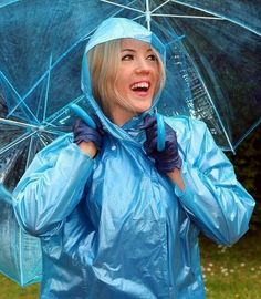 Plastic Raincoat, Pvc Raincoat, Plastic Mac, Brollies, Apron Dress, Rain Wear, Sexy, Rain Jacket, Windbreaker