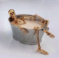 A long soak with Radox in bath is good for your 'bones ' making you feel more 'alive ' but this guy doesn't feel more alive at all