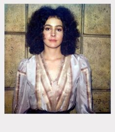 vintage everyday: Astonishing Polaroids from the Private Collection of Actress Sean Young Snapped on the Set of 'Blade Runner'