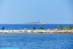 La spiaggia di Punta Barcarello a Sferracavallo
