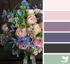 { color flora } image via: @fairynuffflowers