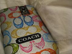 cute Coach cell phone case