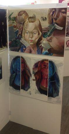 Alice Sutton, A2 Fine Art, CNC
