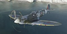..._Supermarine Spitfire Mk.Vc Aircraft Images, Ww2 Aircraft, Fighter Aircraft, Military Aircraft, Fighter Jets, Spitfire Supermarine, Ww2 Spitfire, The Spitfires, Old Planes