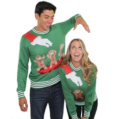 Christmas Ugly Sweaters for couples | Wardrobe | Pinterest ...