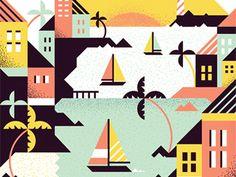 Caribbean Cruising by MUTI