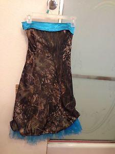 formal camo shoes | Camo Strapless Prom Brides Maids Dress | eBay