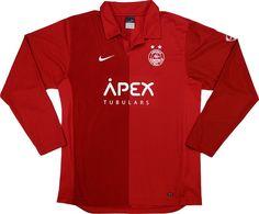Aberdeen FC (Scotland) - 2006/2007 Nike Home Shirt
