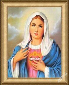 Obraz s rámem 40x50 - Svatí - Panna Marie (6551973502) - Aukro - největší obchodní portál