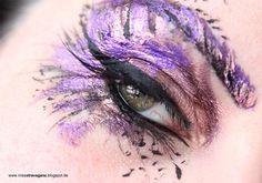 Sailor Mars inspired make up by http://missxtravaganz.blogspot.de/2015/08/blogparade-schminkaktion-sailor-mars.html #makeup