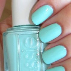 Mint candy apple from Essie.