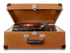 Crosley | Keepsake - Tan #crosley #keepsake #turntable #recordplayer #vintage #retro
