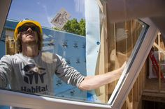 Read stories about how Habitat for Humanity is making an impact in your community and around the world. Habitat For Humanity, Better Life, Milwaukee, Habitats, Dallas, Window, Community, Homes, Inspirational