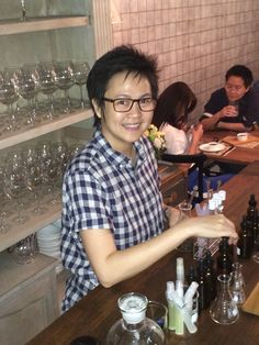Koi is the Scent designer at Tete et Nez Bangkok
