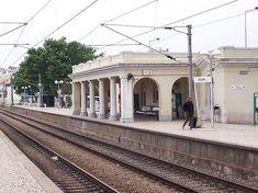 Estação de Estoril Bahnhof, Portugal