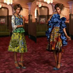 Vlisco 'Feel' Collection African Fashion African Prints