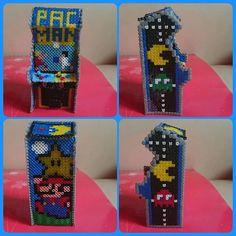 3D Arcade machine perler beads by linosqui