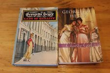 Georgette Heyer 2 Book Lot Lady of Quality Charity Girl