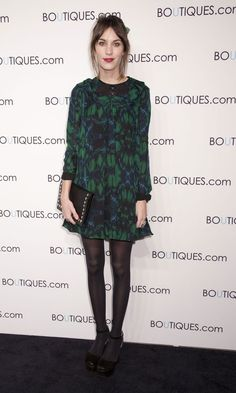 We Are Having Serious Dress Envy Over Alexa Chung's Proenza Schouler Mini, November 2010